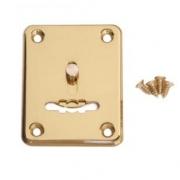 Накладка декоративная (сувальд.) золото (2 шт.)